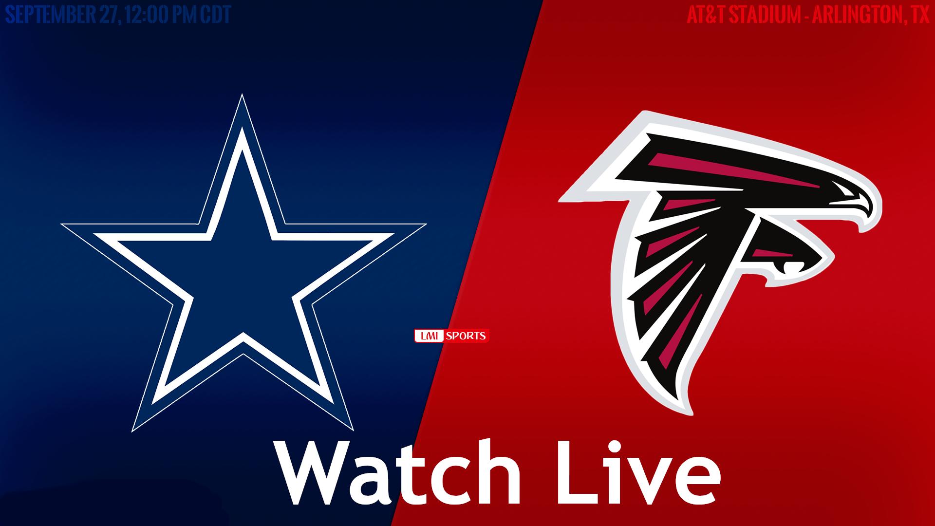 NFL Live: Falcons vs Cowboys Reddit NFL Streams 20 Sep 2020