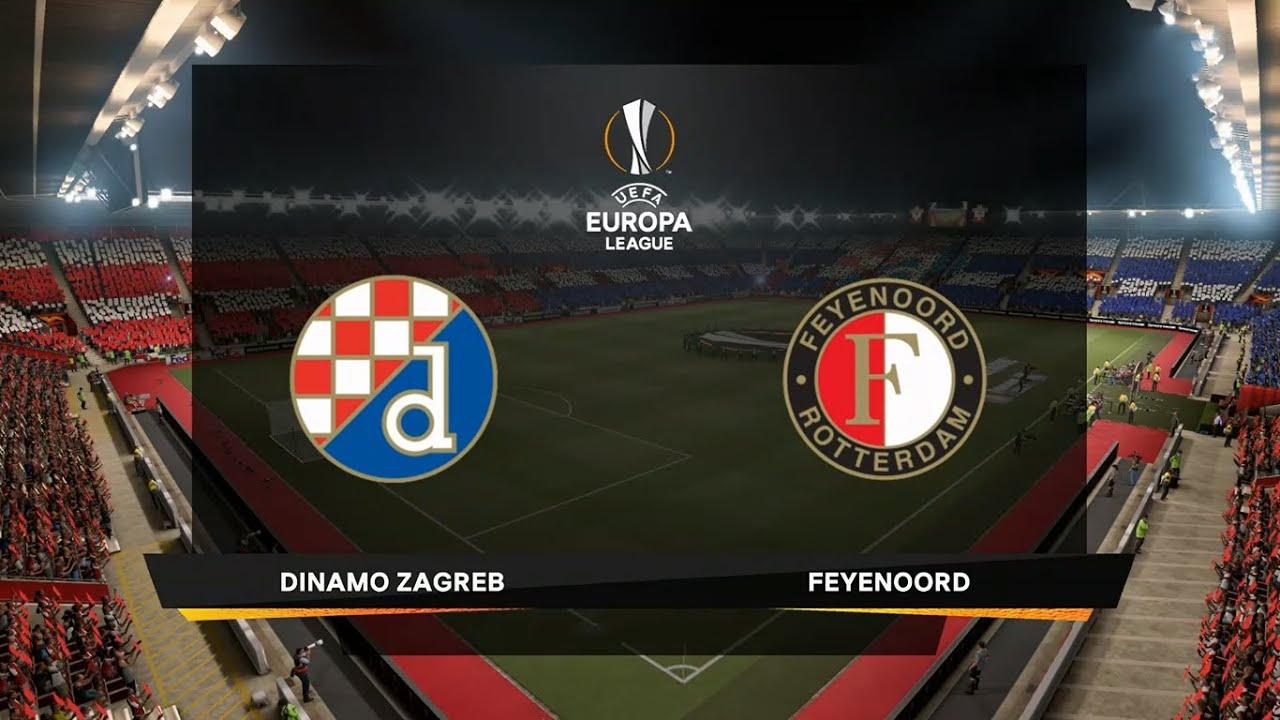 UEL LIVE: Dinamo Zagreb vs Feyenoord Soccer Streams 22 Oct 2020